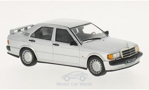Mercedes 190 E 1/43 WhiteBox 2.3 16V grey 1988 diecast model cars
