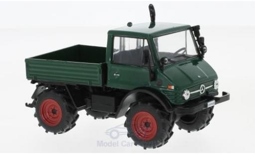 Mercedes Unimog 1/43 WhiteBox 406 dunkelgrün 1977 miniature