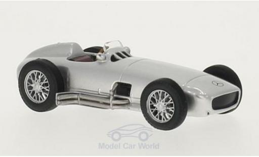Mercedes W 196 1/43 WhiteBox grise 1954 miniature