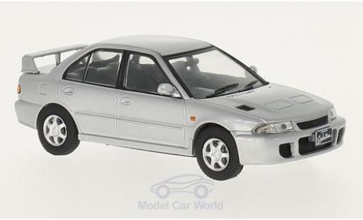 Mitsubishi Lancer 1/43 WhiteBox Evo 1 grise RHD 1992 miniature