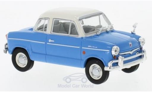 NSU Prinz 1/43 WhiteBox 30E bleue/blanche 1959 miniature