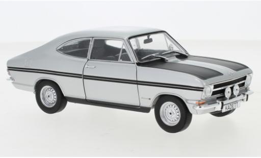 Opel Kadett 1/24 WhiteBox B Rallye grise/matt-noire 1967