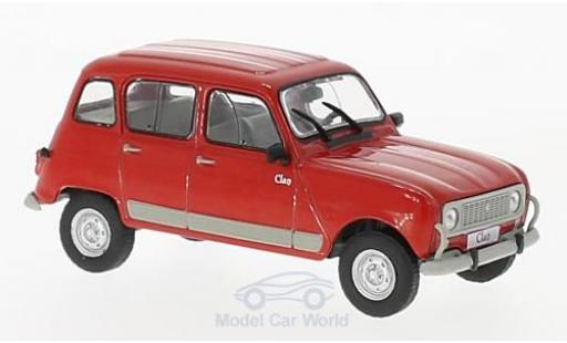 Renault 4 L 1/43 WhiteBox Clan rouge 1978