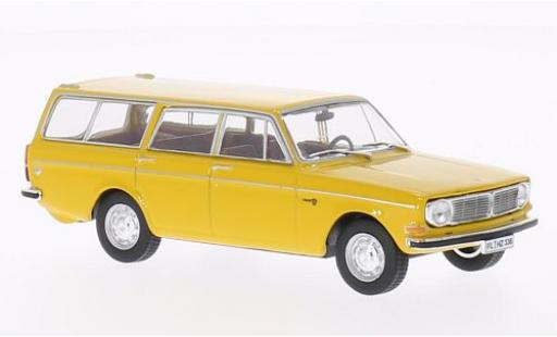 Volvo 145 1/43 WhiteBox jaune 1973 miniature