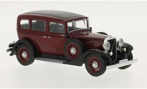 Volvo PV 1/43 WhiteBox 654 rouge/noire 1933 miniature