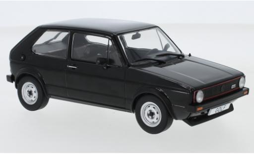 Volkswagen Golf 1/24 WhiteBox 1 GTI noire miniature