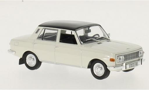 Wartburg 353 1/43 WhiteBox blanche/noire 1967 miniature