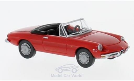 Alfa Romeo Spider 1/87 Wiking red diecast model cars