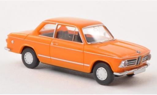 Bmw 2002 1/87 Wiking orange miniature