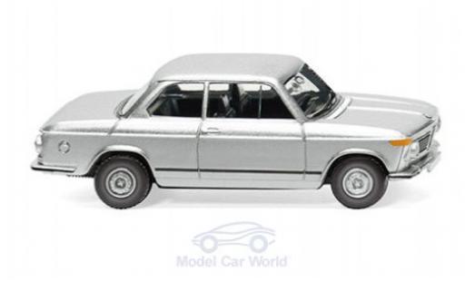 Bmw 2002 1/87 Wiking grigio 1966 modellino in miniatura