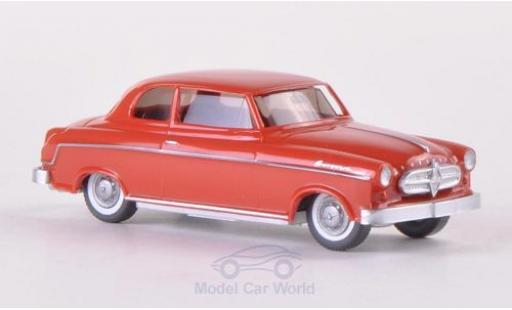 Borgward Isabella 1/87 Wiking rouge miniature