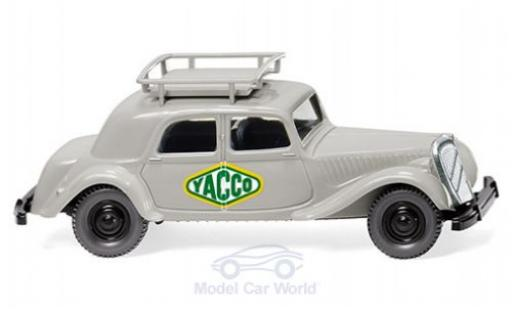 Citroen Traction 1/87 Wiking 15 SIX Yacco miniature