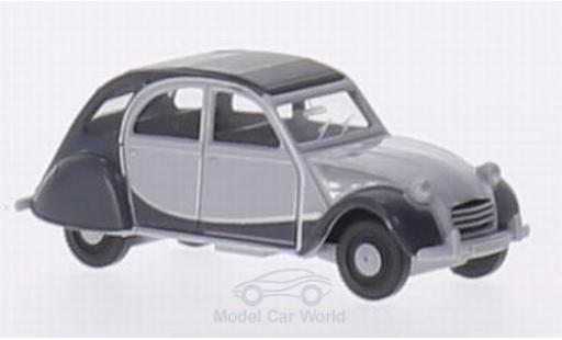 Citroen 2CV 1/87 Wiking Charleston grise/grise miniature