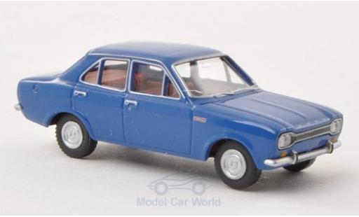 Ford Escort 1/87 Wiking I bleue 4-Türer miniature