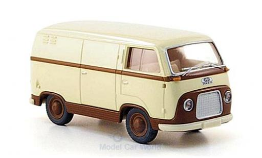 Ford FK 1/87 Wiking 1000 Kastenwagen beige/marron miniature
