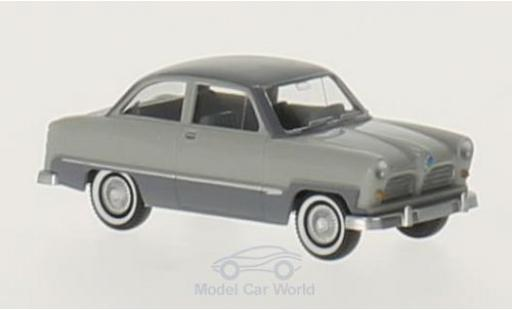 Ford Taunus 1/87 Wiking 12 M grise/grise miniature
