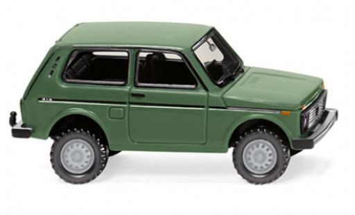 Lada Niva 1/87 Wiking verte miniature