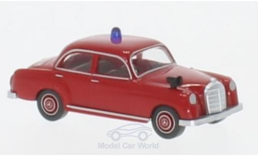 Mercedes 180 1/87 Wiking Feuerwehr diecast model cars