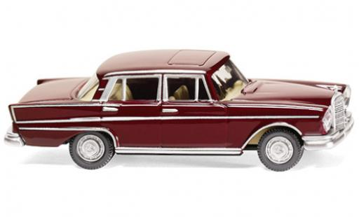 Mercedes 300 1/87 Wiking SE (W112) red 1961 diecast model cars