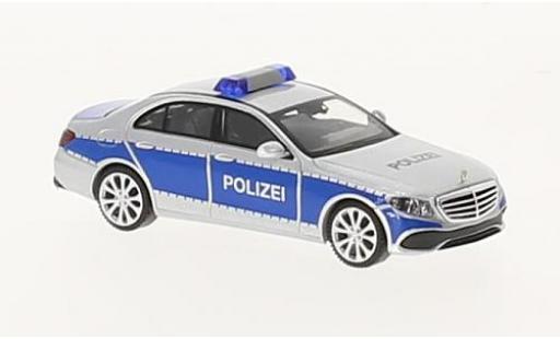 Mercedes Classe E 1/87 Wiking (W213) police miniature