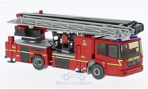 Mercedes Econic 1/87 Wiking Hubrettungsbühne Rosenbauer B32 Feuerwehr miniature