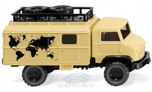 Mercedes Unimog 1/87 Wiking S 404 Globetredter diecast model cars