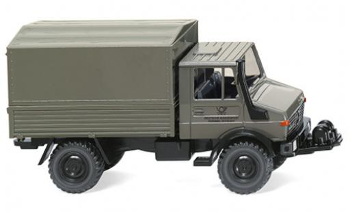 Mercedes Unimog 1/87 Wiking U 1700 L Deutsche Bundespost miniature