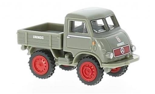 Mercedes Unimog 1/87 Wiking U 401 grey diecast model cars