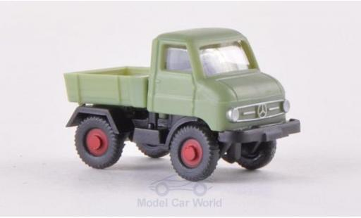 Mercedes Unimog 1/160 Wiking U 411 green diecast model cars