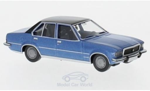 Opel Commodore C 1/87 Wiking B metallic-azul/negro miniatura