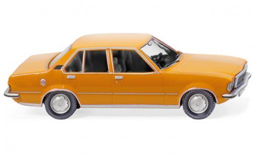 Opel Rekord 1/87 Wiking D orange 1971 miniature