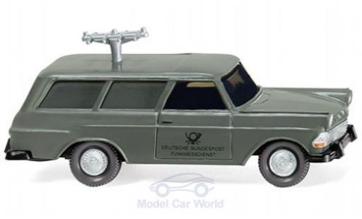 Opel Rekord 1/87 Wiking P2 Caravan Fernmeldedienst 1960 miniature