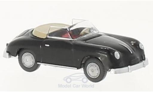 Porsche 356 A 1/87 Wiking Cabriolet black diecast model cars