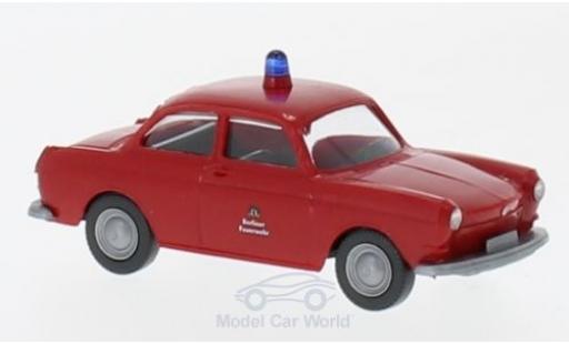 Volkswagen 1600 1/87 Wiking VW 1600 Feuerwehr diecast