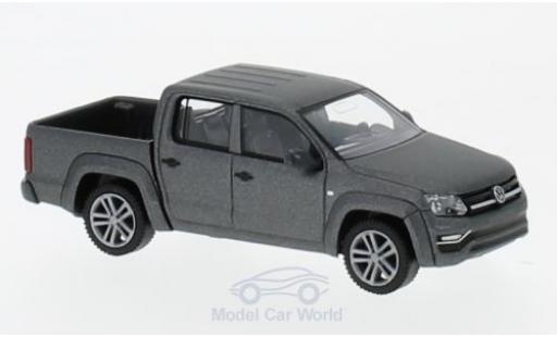 Volkswagen Amarok 1/87 Wiking GP Comfortline metallise grise miniature