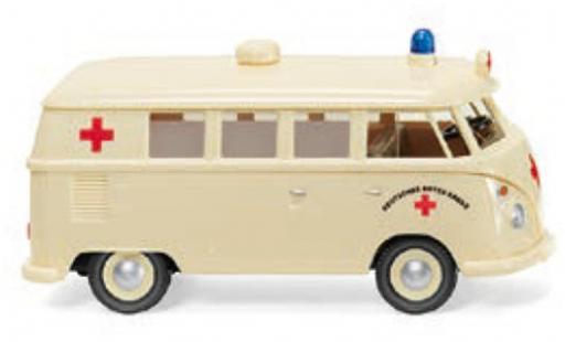 Volkswagen T1 1/87 Wiking Bus DRK - Deutsches Rotes Kreuz 1963 diecast model cars