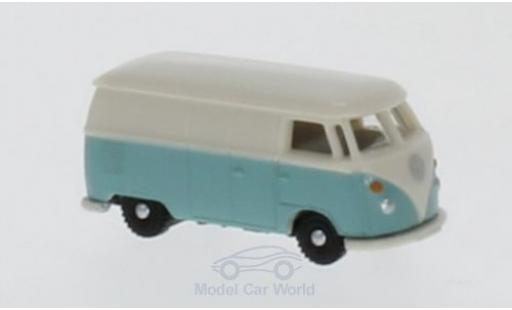 Volkswagen T1 A 1/160 Wiking Kastenwagen turquoise/white diecast model cars