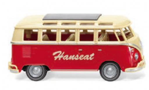 Volkswagen T1 1/87 Wiking Sambabus Hanseat 1963 diecast model cars