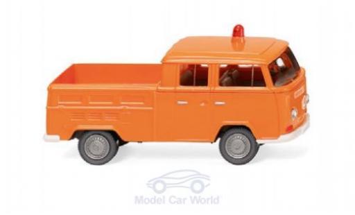 Volkswagen T2 1/87 Wiking Doppelkabine Kommunal diecast model cars