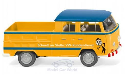Volkswagen T2 1/87 Wiking Doppelkabine Kundendienst diecast