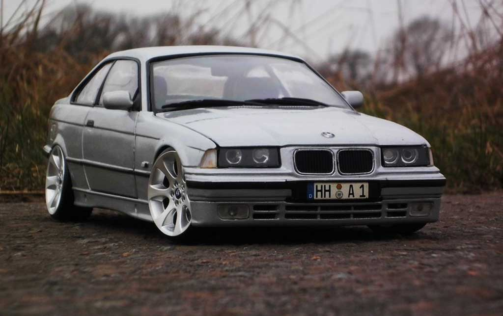 bmw 325 e36 e36 grau wheels e90 ut models modellauto 1 18. Black Bedroom Furniture Sets. Home Design Ideas