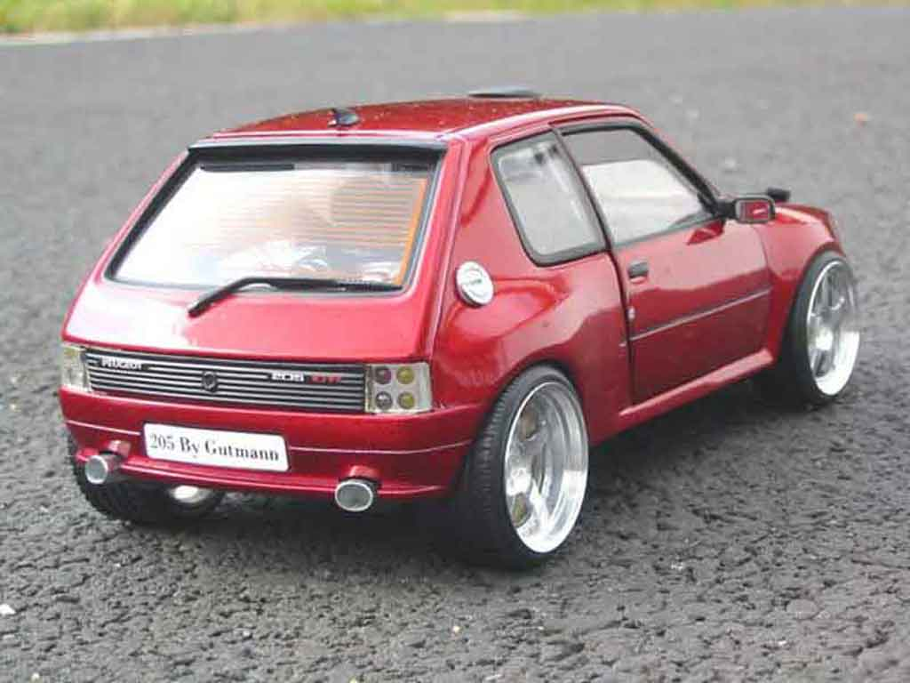 peugeot 205 gti dimma miniature preparation tuning solido 1 18 voiture. Black Bedroom Furniture Sets. Home Design Ideas