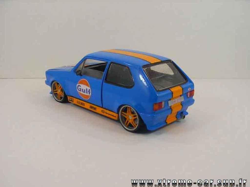 Volkswagen Golf 1 GTI 1/18 Solido gulf blue