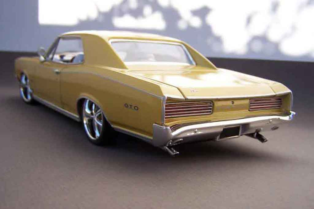 Pontiac Gto Miniature Westcoast Welly 1 18 Voiture