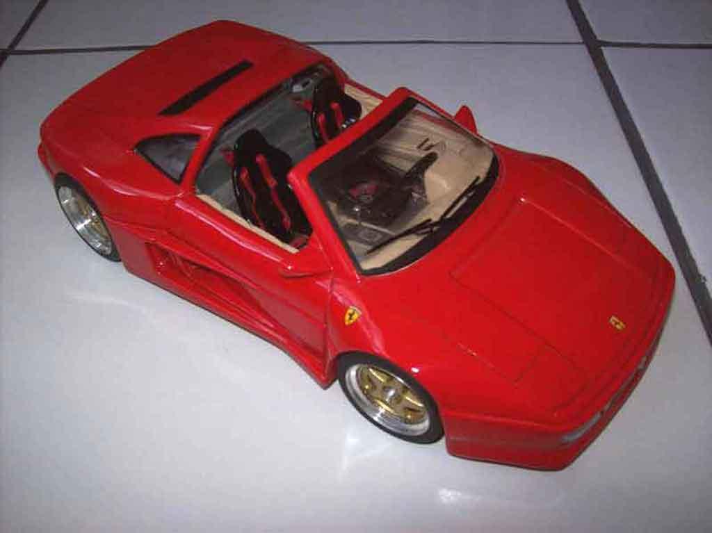 Ferrari 348 TS 1/18 Burago koenig kit legende miniatures