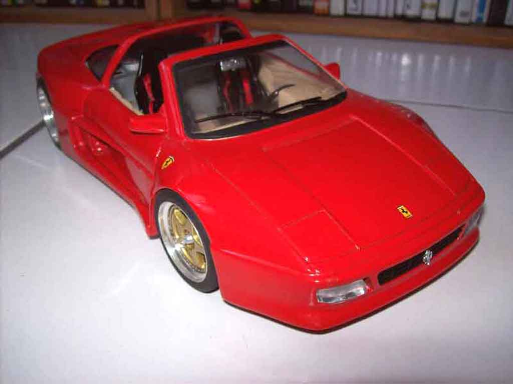 ferrari 348 ts koenig kit legende miniatures burago modellini auto 1 18 comprare sendere. Black Bedroom Furniture Sets. Home Design Ideas