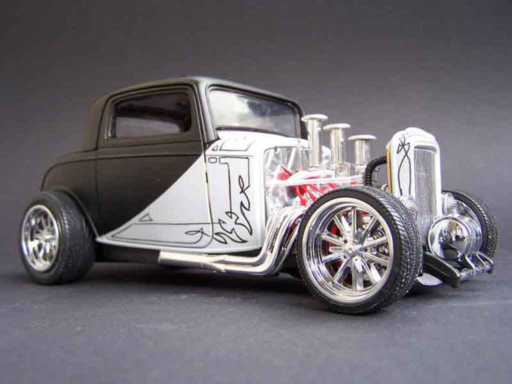 Ford 1932 1/18 Yat Ming street rod tuning miniature