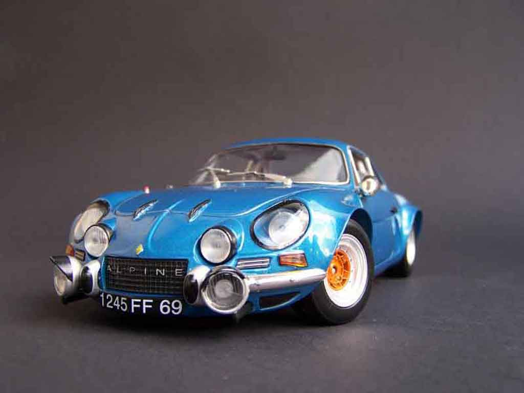 Alpine A110 1/18 Solido preparee tuning diecast model cars