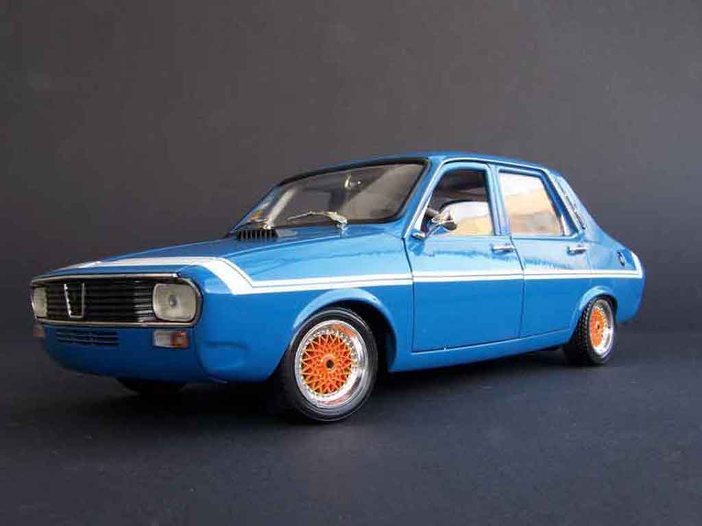 Renault 12 Gordini 1/18 Solido bbs rs 13 (175/50 r13) tuning miniature