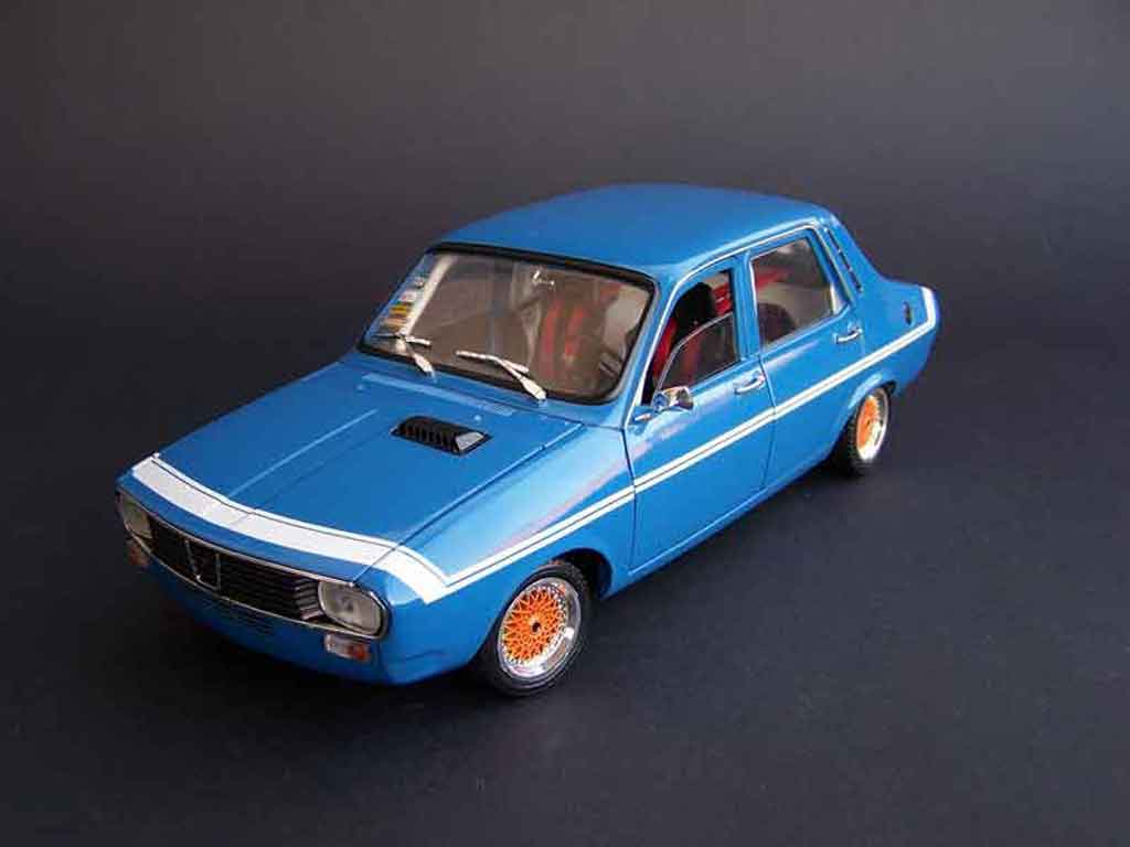 Renault 12 Gordini 1/18 Solido bbs rs 13 (175/50 r13)